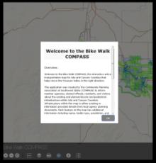 Walk/Bike Compass